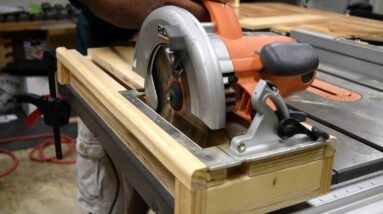 Circular Saw CrossCut Jig | Accurate  Cuts