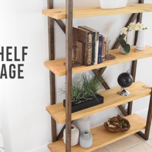 DIY Bookshelf - Storage & Organization