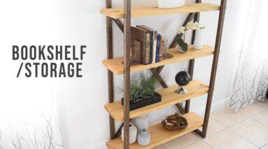 DIY Bookshelf - Storage & Organization