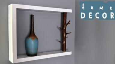 DIY Decor Shelf - With Tree Branch