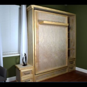 Diy Murphy Bed Build - Wall bed Hack Without the Hardware  Kit