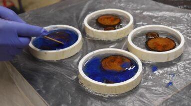 Epoxy Resin Wood Coasters