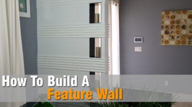 Feature Wall Build | DIY Build