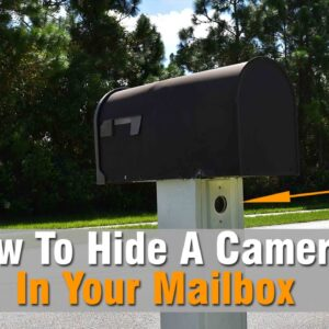 Hidden Camera In Mailbox