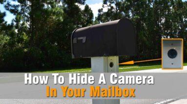 Hidden Camera In Mailbox