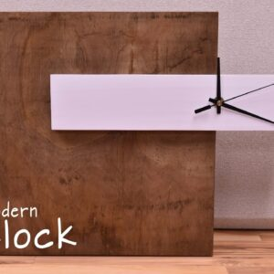 How To Make A Modern Clock | DIY Build