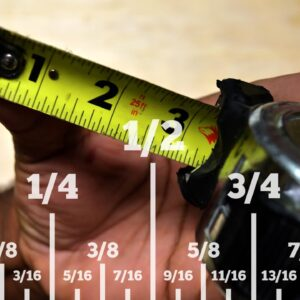 How to Read a Standard Tape Measure - The way I learned
