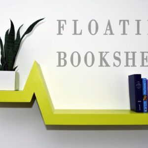 Make A Floating Bookshelf