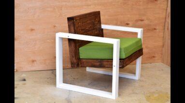 Modern Outdoor Chair | DIY Build