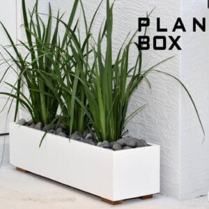 Modern Planter Box | DIY Build