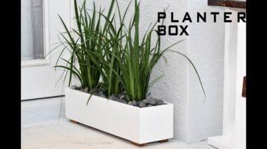Modern Planter Box | DIY Build