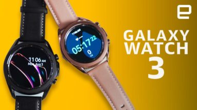 Samsung Galaxy Watch 3: Classic style, familiar guts