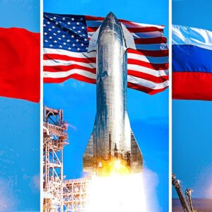 The New Space Race: USA vs China vs Russia