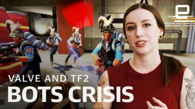 What is Valve doing with bots crisis in Team Fortress 2?