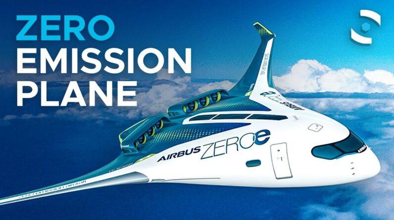 Airbus Reveals New Zero-Emission Plane