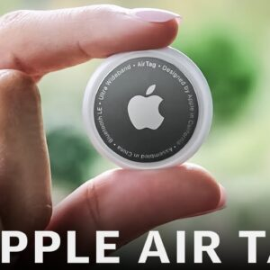 Apple's Airtag announcement in one minute