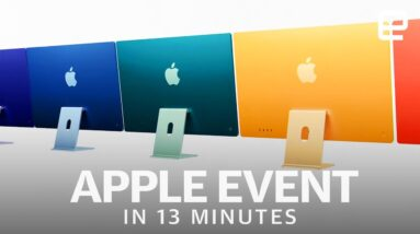 Apple's Spring 2021 event in 13 minutes: New M1 iMac and iPad Pro