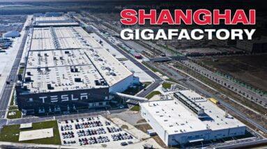 Inside Tesla's New Shanghai Gigafactory