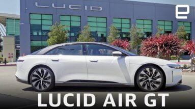 Lucid Air GT hands-on: 550+ mile range in a sleek package