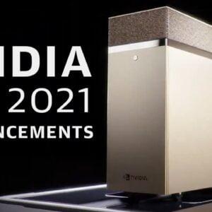 Nvidia's massive GTC 2021 press conference in 17 minutes