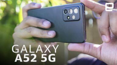 """Samsung Galaxy A52 5G: Is """"good"""" good enough?"""
