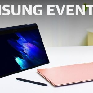 Samsung's Galaxy Book Pro event in 10 minutes