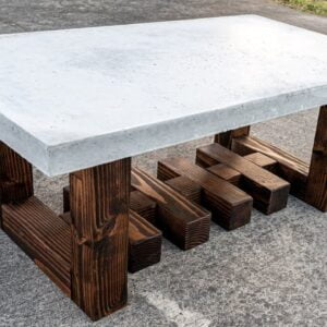 Concrete coffee table (Indoor outdoor)