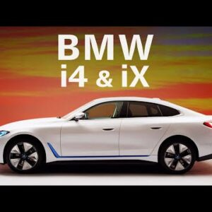 BMW expands EV fleet with i4 eDrive 40 sedan & iX xDrive 50 SUV