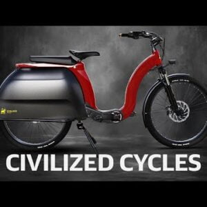 Civilized Cycles Model 1: A posh and practical e-bike