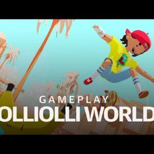 OlliOlli World gameplay at E3 2021