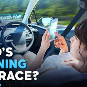 Who's Winning The Self-Driving Car Race?