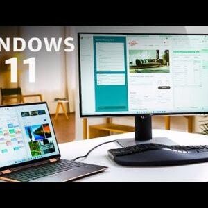 Windows 11 in under 8 minutes