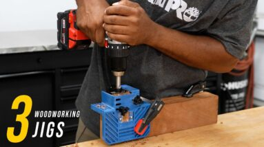 3 woodworking joinery jigs and how to use them