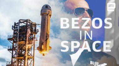 Blue Origin's Jeff Bezos launch on New Shepard: Watch LIVE