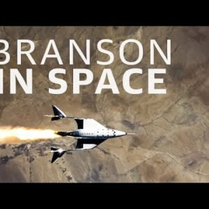 Did Richard Branson really go to space?
