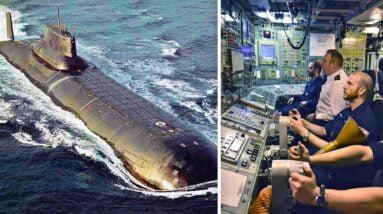 Inside Russia's $5 Billion Typhoon Submarine