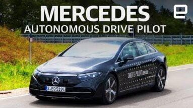 Mercedes's level 3 Autonomous Drive Pilot Hands-on