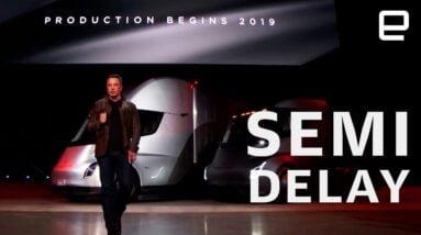 Tesla delays Semi truck release to 2022