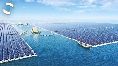 The World's Largest Floating Solar Farm