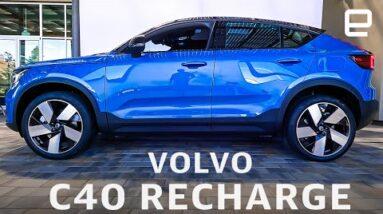 Volvo C40 Recharge: Volvo cruises towards its all-EV future