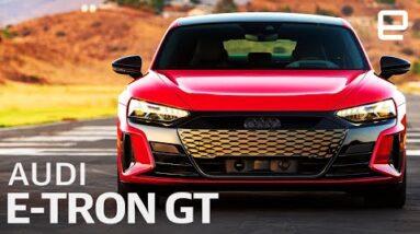 Audi's e-tron GT First Drive