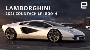Lamborghini 2021 Countach LPI 800-4 first look
