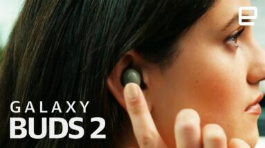 Samsung Galaxy Buds 2 at Galaxy Unpacked 2021 under 2 minutes