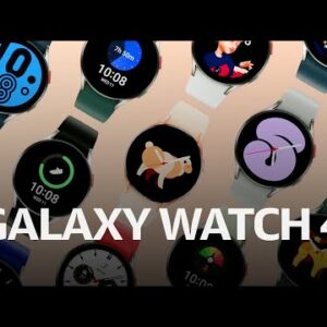 Samsung Galaxy Watch 4 at Galaxy Unpacked 2021 under 4 minutes