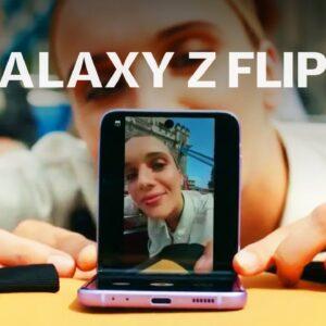 Samsung Galaxy Z Flip 3 at Galaxy Unpacked 2021 under 4 minutes