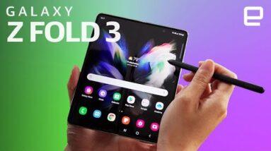 Samsung Galaxy Z Fold 3 Hands-on