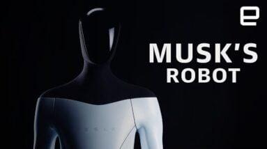 Tesla Bot: Elon Musk's humanoid robot stunt