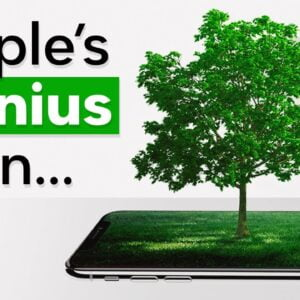 Apple's Ingenious Plan To Become Carbon Neutral