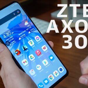 Axon 30 review: ZTE nails the under-screen camera