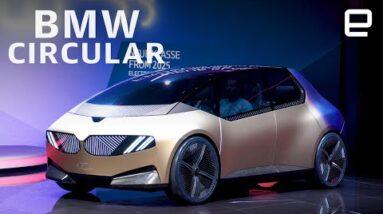 BMW i Vision Circular Concept EV first look